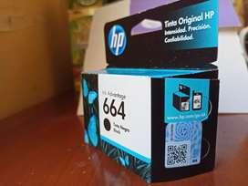 CARTUCHO DE TINTA HP 664_COLOR: NEGRO_ORIGINAL Y NUEVO