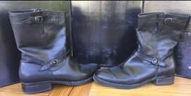Botas negras de mujer Woodland
