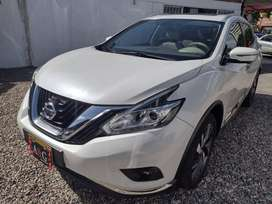 NISSAN MURANO EXCLUSIVE TP 4X4 MOD 2018