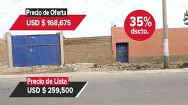 Entidad Financiera Remata Terreno  Av Santa Rosa, Chincha Alta - 00801