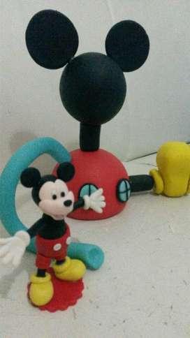 Casa de Mickey Mouse Porcelanicron