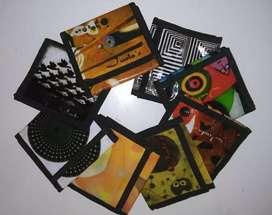 Billetera de diseño con porta tarjetas y monedero