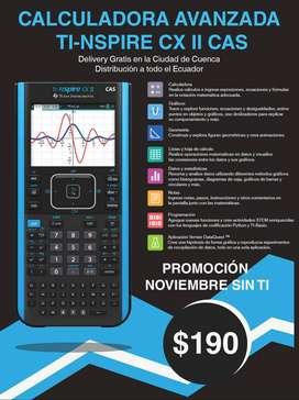 Calculadora Ti-nspire Cx 2 Cas 2020 (Promoción Noviembre sin Ti!)