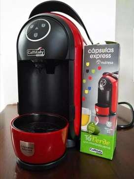 Café en sistema de cápsulas express Caffitaly.