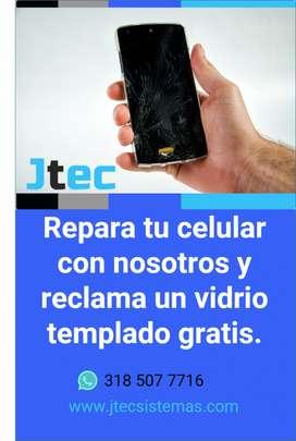 Reparación de celulares, iphone y android