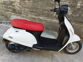 Moto eléctrica folk