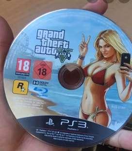 Videojuego para play station 3 GTA 5.