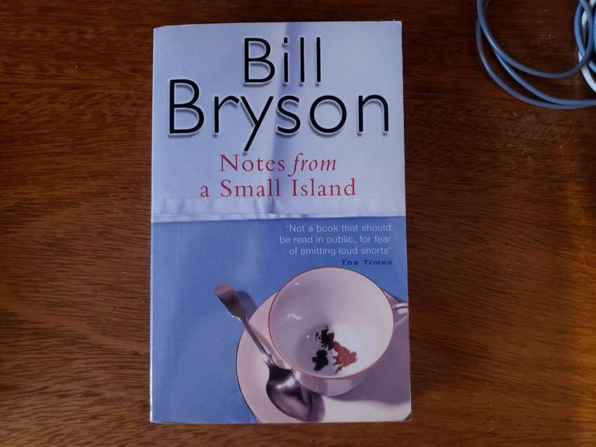 Libro Notes From A Small Island Bill Bryson Ingles 0
