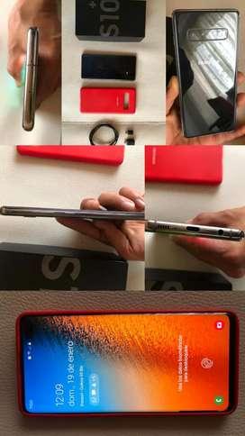 Samsung Galaxy s10 plus vendo cambio