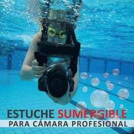 Estuche Impermeable Tteoobl Para Canon Resist Agua / Impoluz