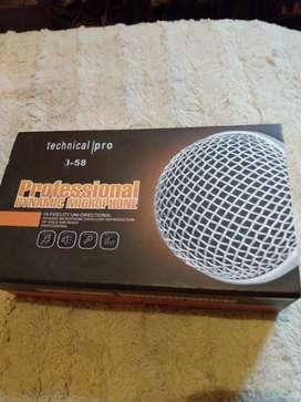 Micrófono impecable