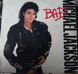 Vinilo lp Michael Jackson bad original 1987