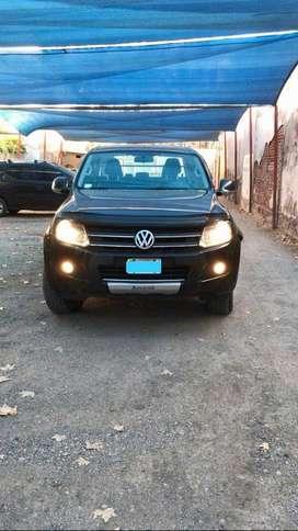 AMAROK 4x2 20 Tdi (163cv) 4x2 Cidoble Highline Cuero Alarma 2012 excelente estado