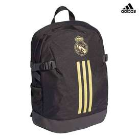 Morral Real Madrid adidas, Black/dark Football Gold Original