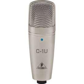 Micrófono de condensador de estudio USB Behringer C-1U