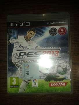 Pro Evolution Soccer 2013 PES 2013 para PS3 (Negociable)