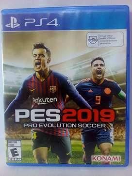 JUEGO PRO EVOLUTION SOCCER 2019 PS4