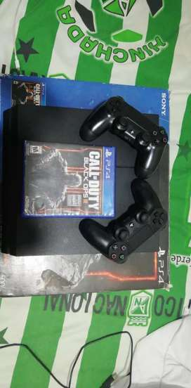 playstation 4 con dos controles