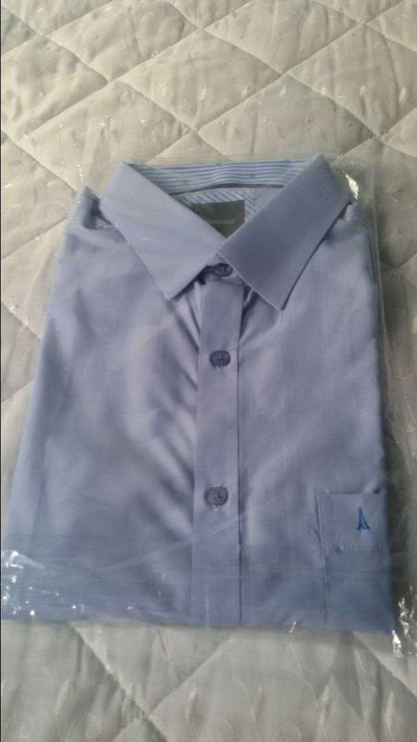 Camisa Para Hombre Original Kosta Azúl Slim Talla L 0
