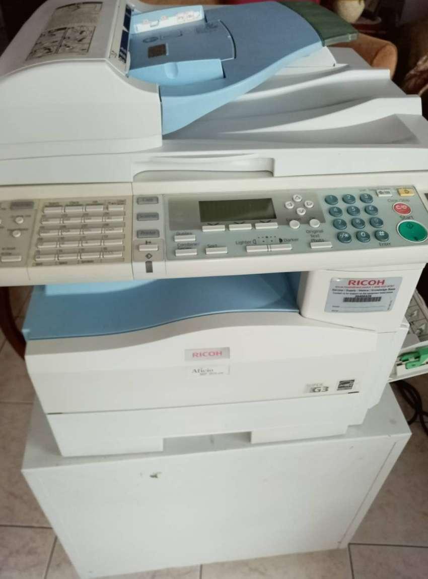 fotocopiadora multifuncional ricoh con funcion de impresora , scanner , duplex , costo 470.000 0