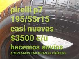 Neumaticos pirelli p7 195/55r15