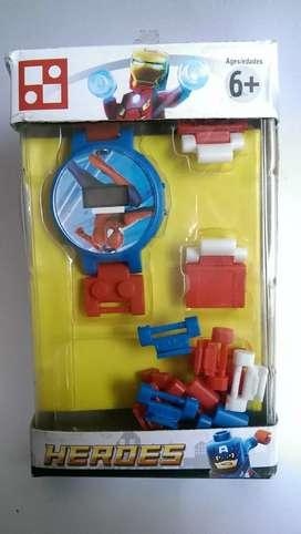 Reloj Spider-Man para niños