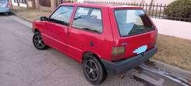 VENDO FIAT UNO '97  3P C/GNC