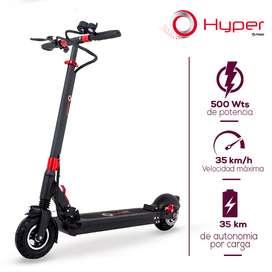 ESPECTACULAR PATINETA IMPORTADA eléctrica Scooter Migo Hyper – 500 Watts 48V-13AH