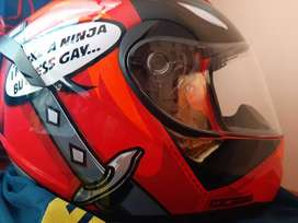 VENDO Casco SHAFT Sh586 deadpool-rojo (solo interesados)