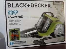 Aspiradora black and decker