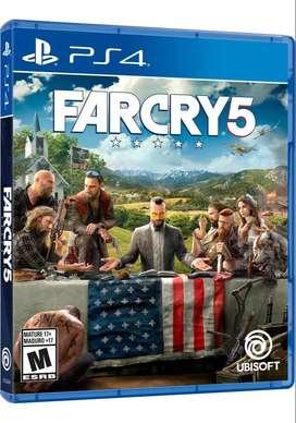 FARCRY 5 PS4 Físico Blu-ray Original Nuevo Sellado