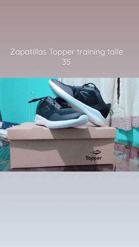 Zapatillas Topper talle 35