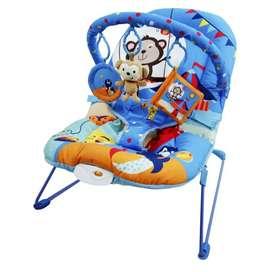 Coche cuna, silla vibradora, silla de comer