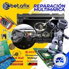 REPARACIÓN RADIOS DE AUTO GREAT WALL HAVAL BETAFIX DESDE