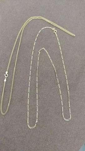 Cadena de oro ley 750