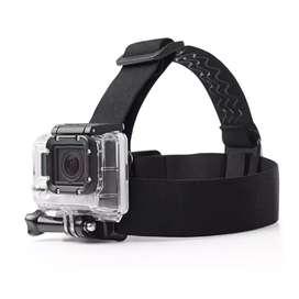 Soporte de cabeza para gopro y cámaras deportivas