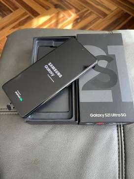 Vendo celular S21 ultra 5G