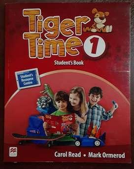 Vendo libro de ingles TIGER TIME para primer grado