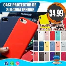 Case Protector De Silicona iPhone