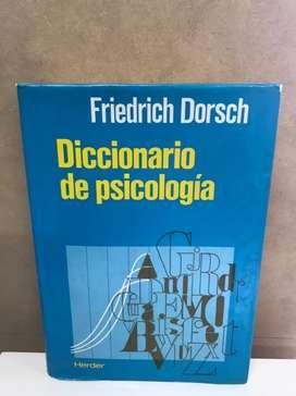 Título: Diccionario de Psicología