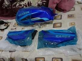 Se vende tanque para moto lineal o moto taxi color azul
