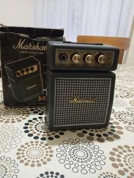 Vendo mini amplificador Marshall MS-2