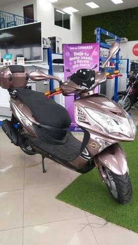 Moto Oromoto 150 tipo Pasola año 2020 Monica