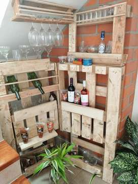 Módulo de Bar en Madera