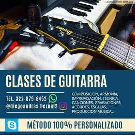 CLASES PROFESIONALES DE MUSICA Y GUITARRA