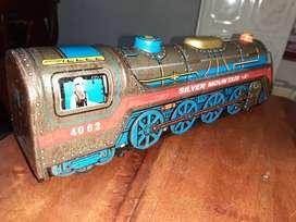 Locomotoras trenes de hojalata para decoración