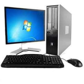 Oferta Computadores Duble Núcleo Completo con factura y garantía
