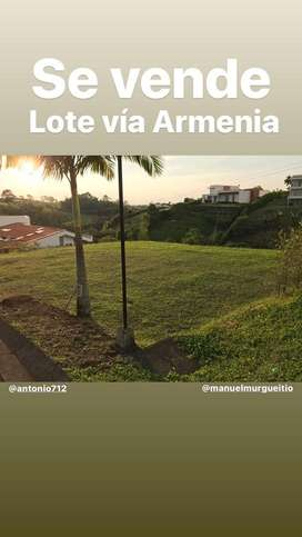 Lote via Armenia sector Tribunas