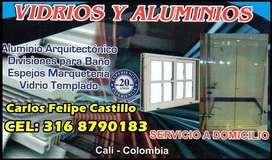 Ventanas Aluminio Vidrio Templado