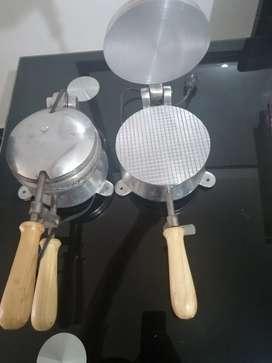 Maquina de hacer obleas y conos